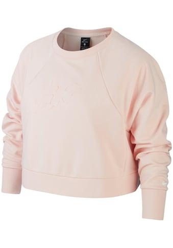 Nike Sweatshirt »WOMEN NIKE DRY LUX CREW PLUS SIZE«, In großen Größen kaufen