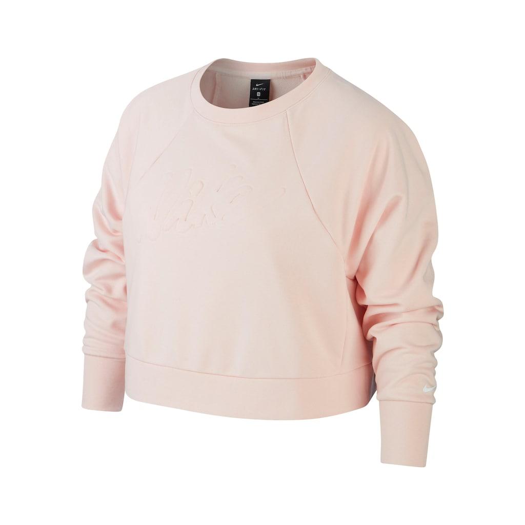 Nike Sweatshirt »WOMEN NIKE DRY LUX CREW PLUS SIZE«, In großen Größen