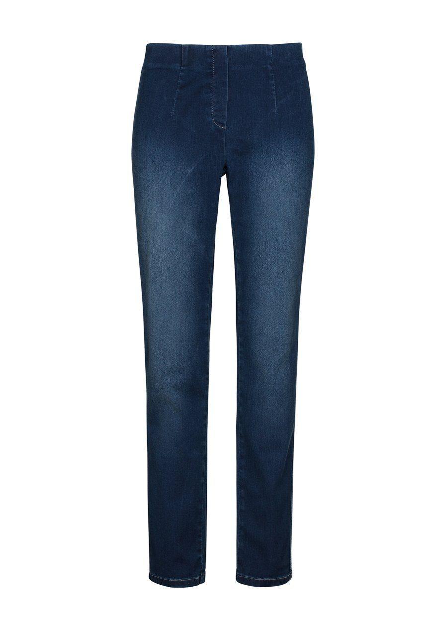 MILLION-X Röhrenjeans Happy Fit Skinny | Bekleidung > Jeans > Röhrenjeans | Blau | Million-X