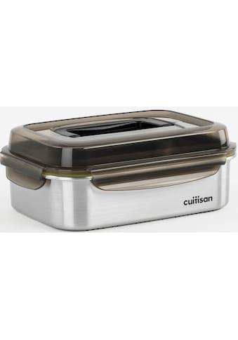 cuitisan Aufbewahrungsbox »Signature«, (1 tlg.), eckig mit Clipverschlussdeckel und Griff kaufen