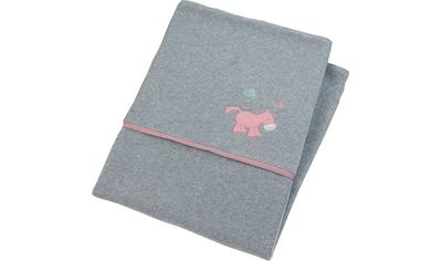 Sterntaler® Babydecke »Pauline«, aus weichem Microfleece kaufen