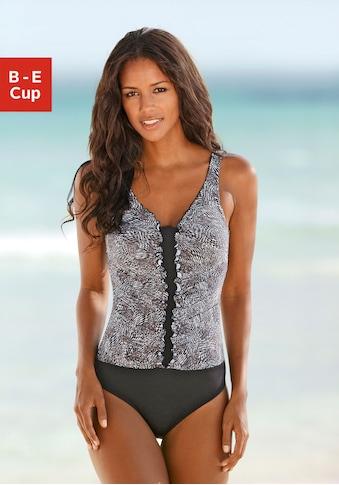 LASCANA Badeanzug, mit trendigem Animalprint kaufen