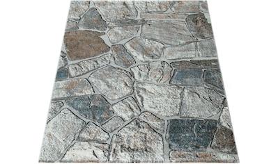 Teppich, »Nizza 732«, Paco Home, rechteckig, Höhe 16 mm, maschinell gewebt kaufen