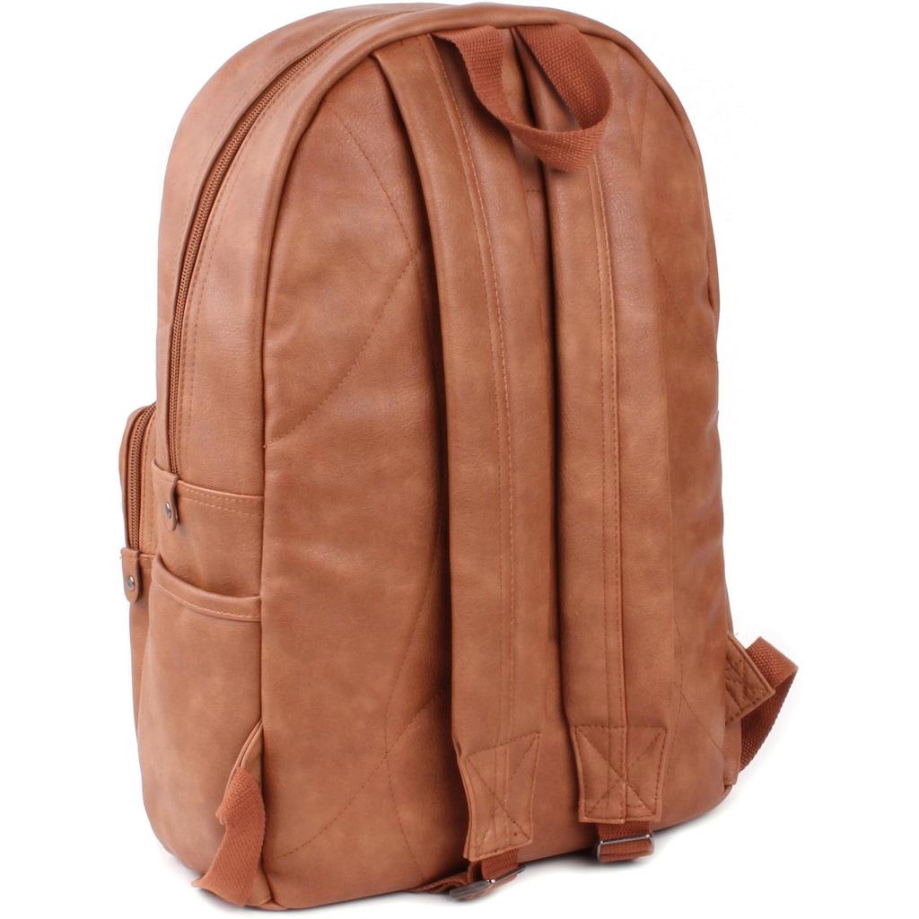 Kidzroom Wickelrucksack »Popular, brown«