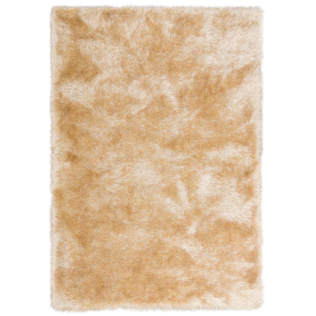 merinos Hochflor-Teppich »Glossy 411«, rechteckig, 70 mm Höhe, Besonders weich durch Microfaser