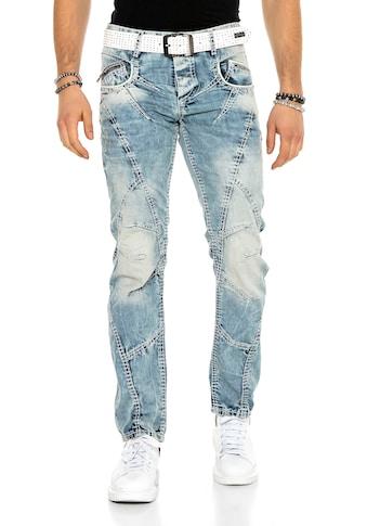 Cipo & Baxx Bequeme Jeans, im Antique Look kaufen