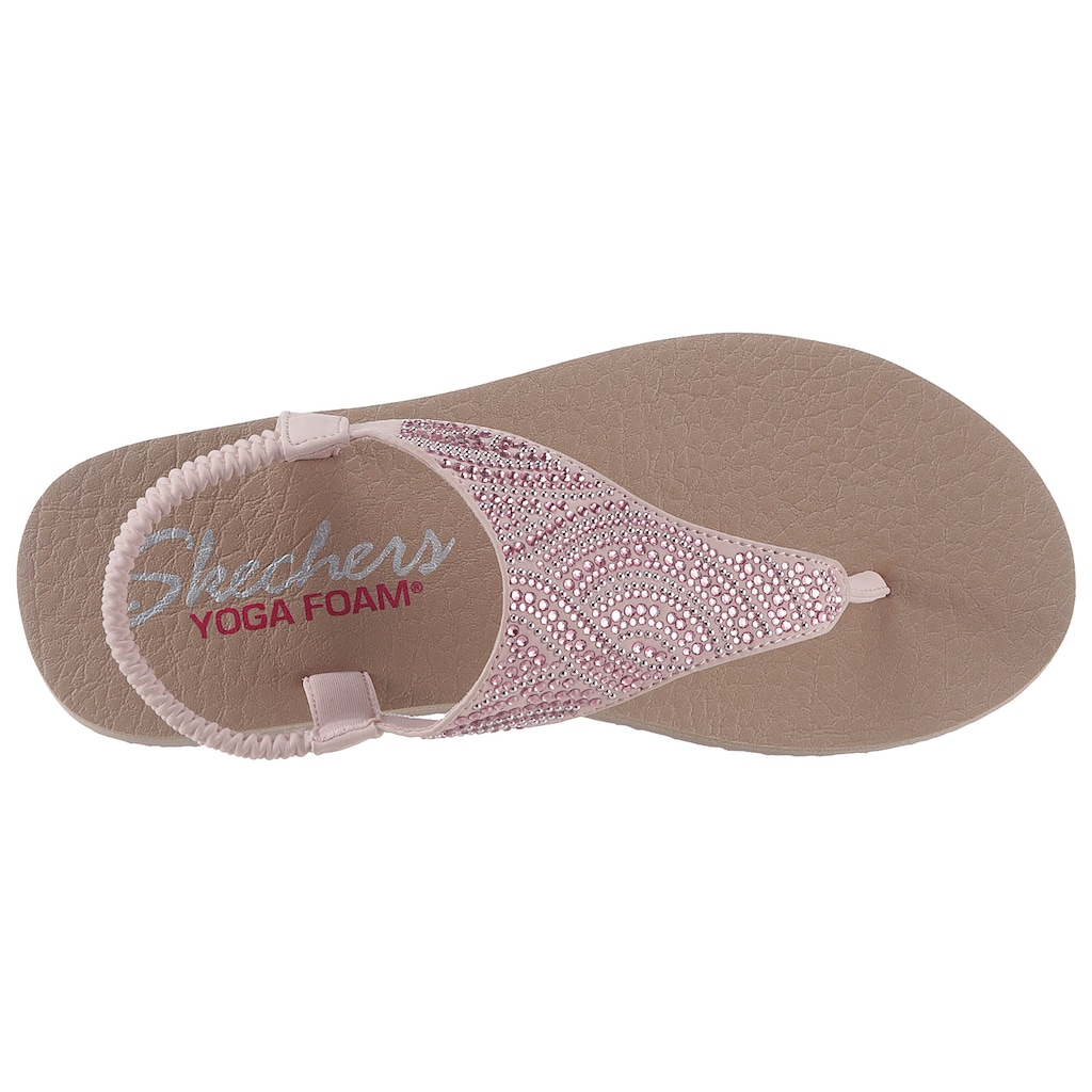 Skechers Sandale »Meditation - New Moon«, mit Gummizug für einen guten Halt