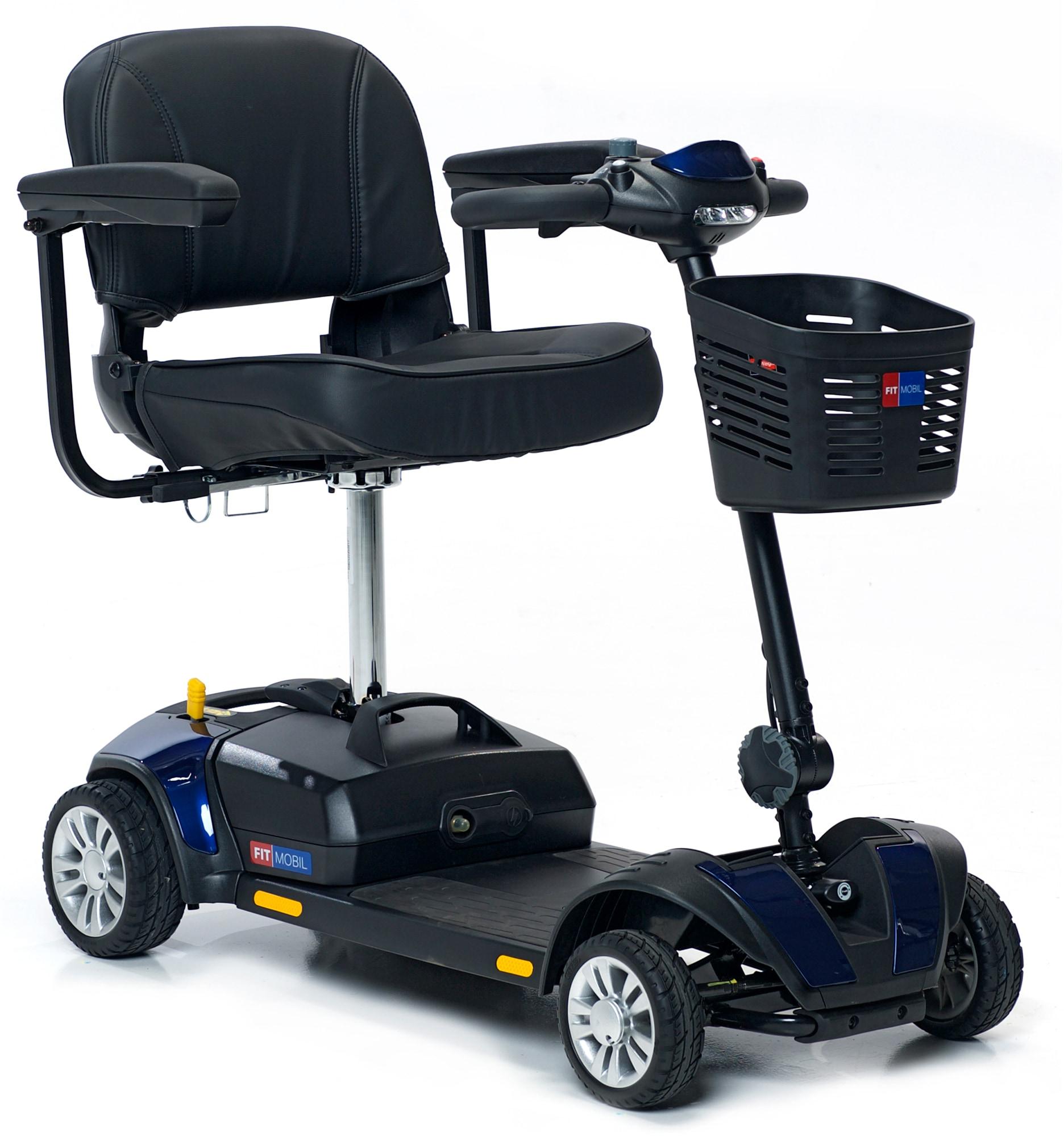 FITMOBIL Elektromobil, 6 km/h blau Elektromobile Motorroller Mofas Elektromobil