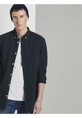 TOM TAILOR Denim Langarmhemd »Hemd mit Brusttasche« kaufen