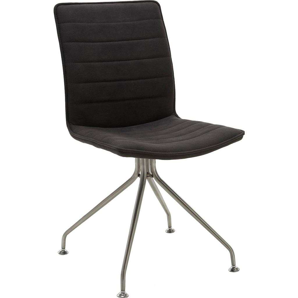 NIEHOFF SITZMÖBEL Stuhl »Minimax«, mit Stativ Gestell in Edelstahl