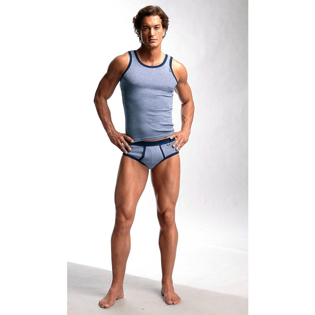 Clipper Exclusive Slip, modische Optik: Jeans meliert, tolle Baumwoll-Qualität