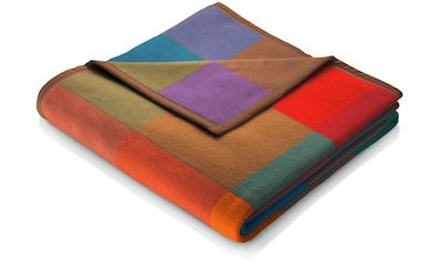BIEDERLACK Wohndecke »Colormix«, mit bunten Karos kaufen