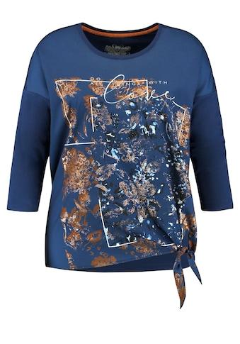 Samoon Blusenshirt »Blusenshirt mit Knoten - Detail« kaufen