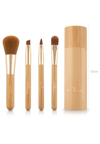 Luvia Cosmetics Kosmetikpinsel-Set »Travel Bamboo Tube«, (4 tlg.) kaufen
