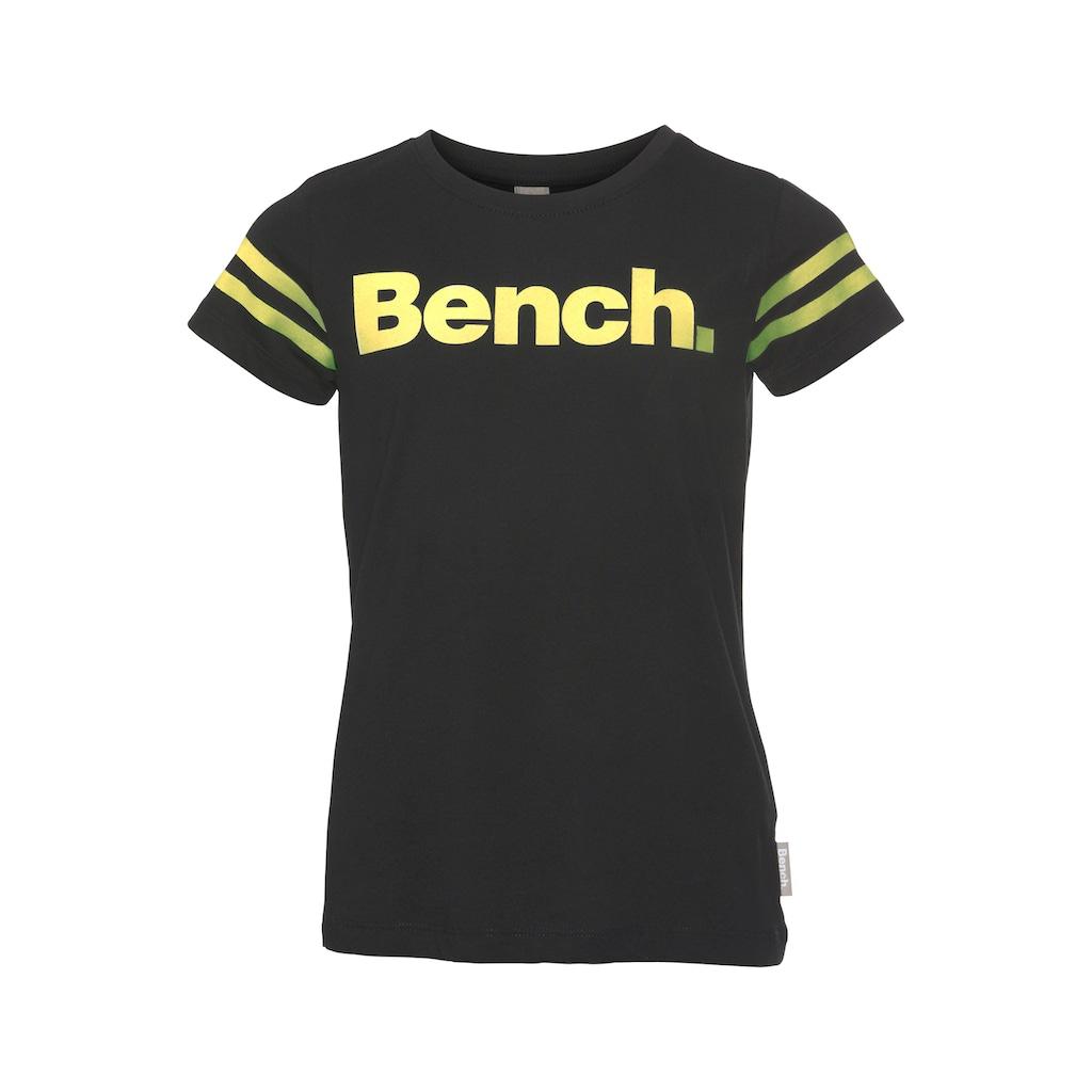 Bench. T-Shirt »Print leuchtet im Dunkeln«