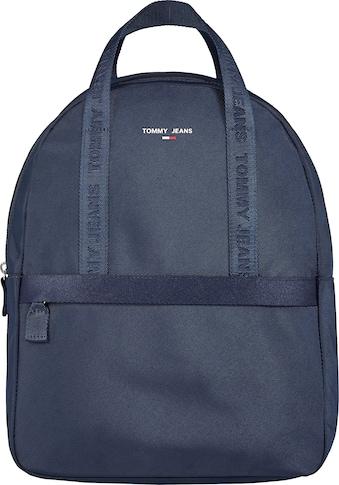 Tommy Jeans Cityrucksack »TJW ESSENTIAL BACKPACK«, mit doppeltem Tragehenkel kaufen