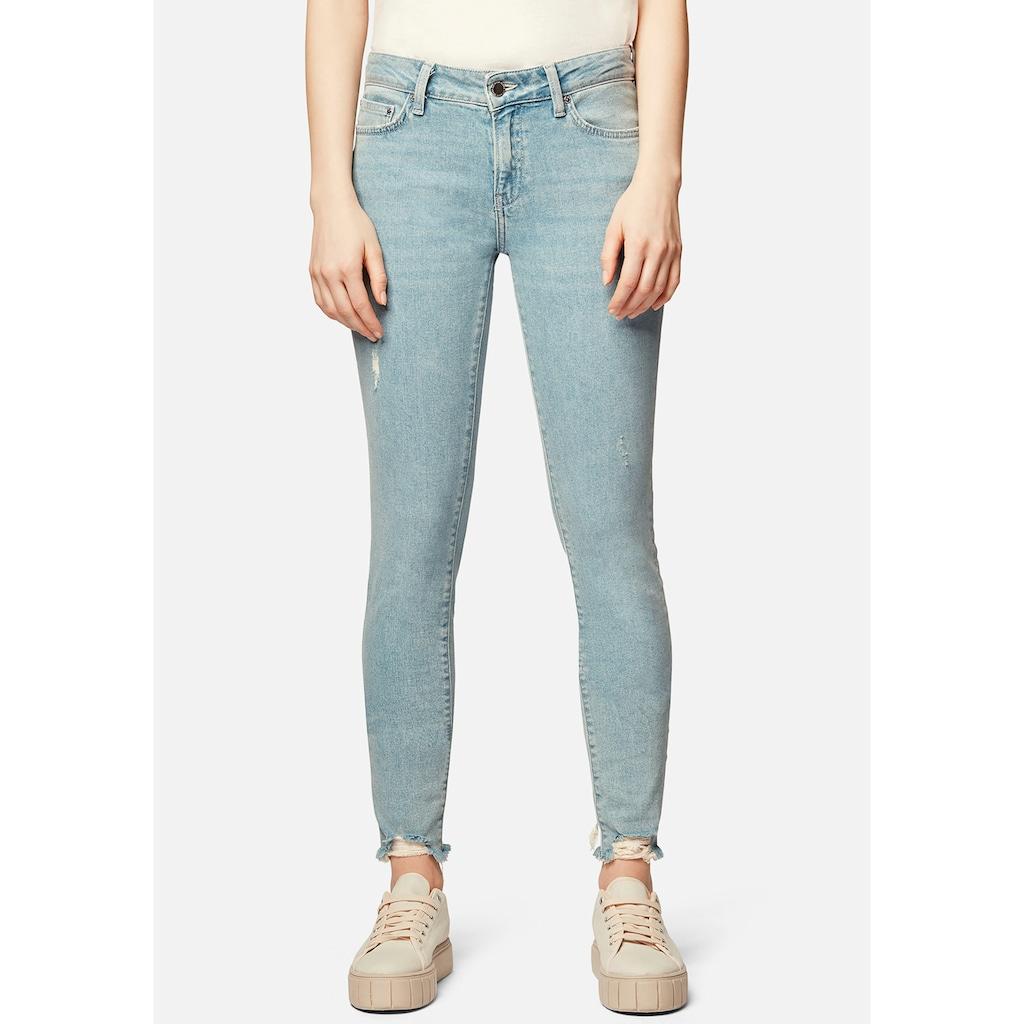 Mavi Skinny-fit-Jeans »ADRIANA-MA«, mit ausgefranster Kante am Saumabschluss