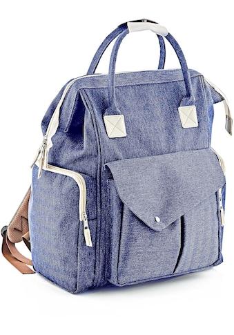 Babyjem Wickeltasche »multifunktional, blau« kaufen