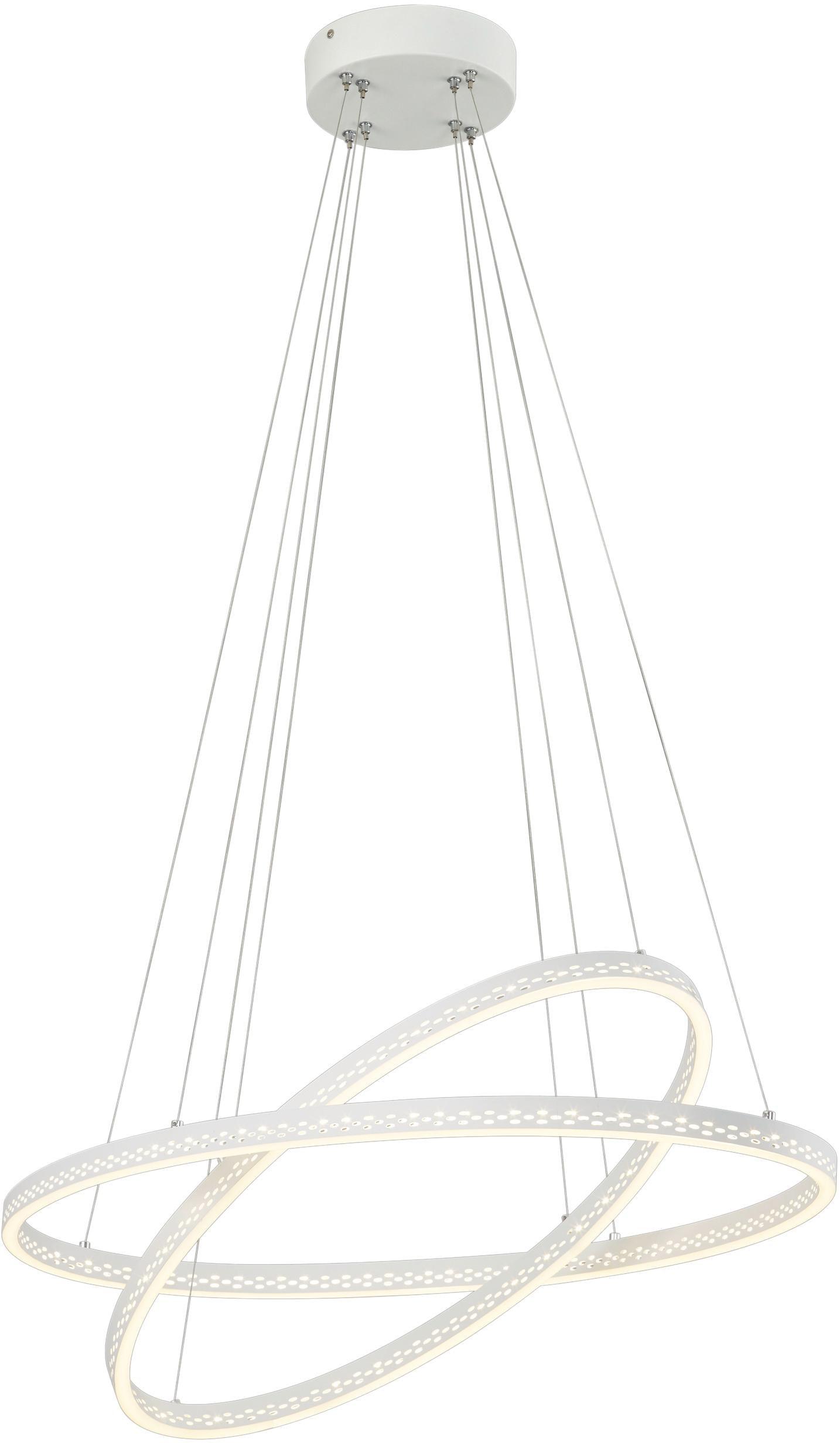 TRIO Leuchten LED Pendelleuchte Lincoln