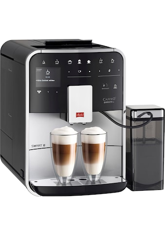 Melitta Kaffeevollautomat Melitta®CAFFEO Barista TS Smart® F85/0 - 101, silberfarben/schwarz, 1,8l Tank, Kegelmahlwerk kaufen