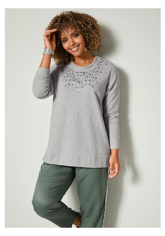 Angel of Style by Happy Size Sweatshirt mit Glanzgarn kaufen