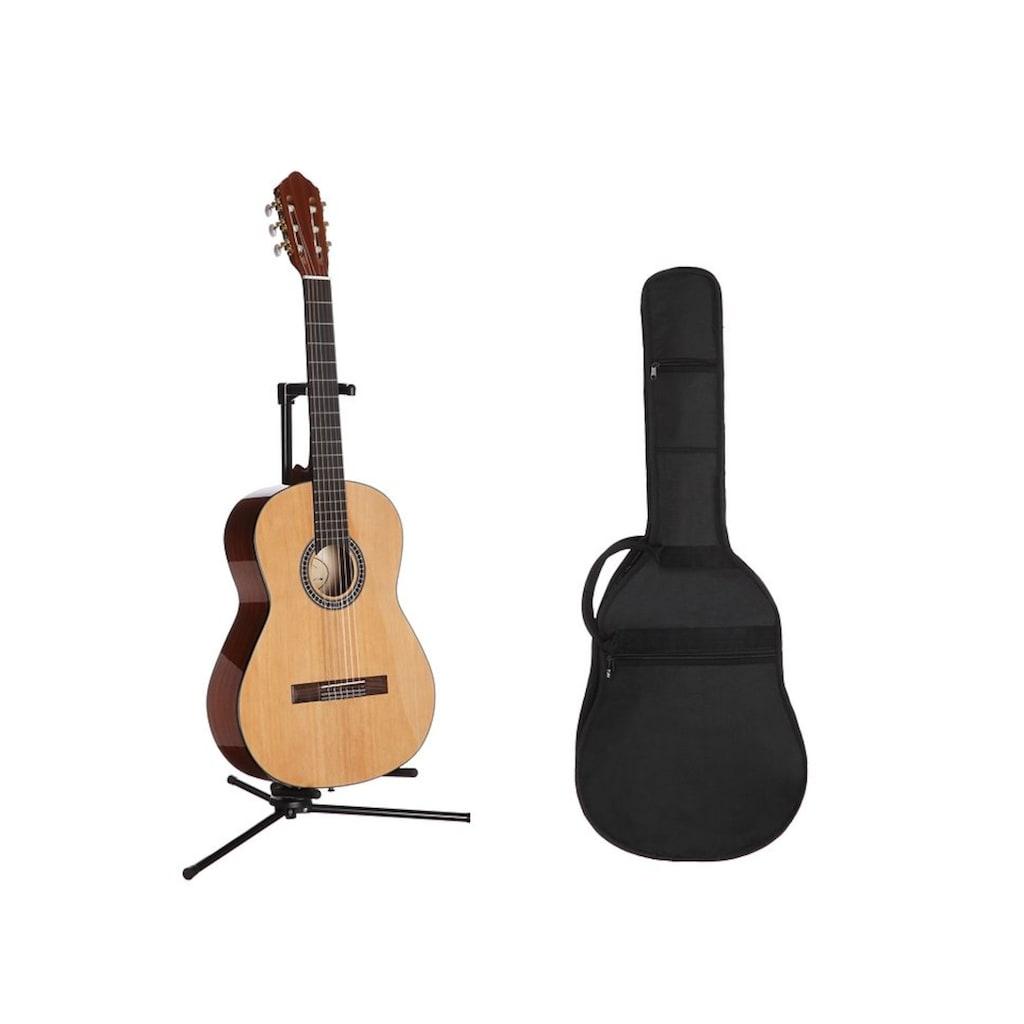 Konzertgitarre »Jose Ribera® Konzertgitarrenset 4/4 HG62«, 4/4