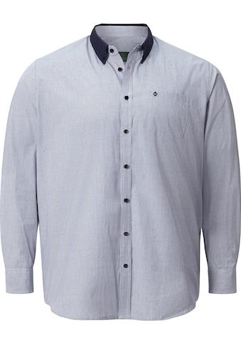 Charles Colby Langarmhemd »DUKE ARAWN«, klassisches Karohemd kaufen