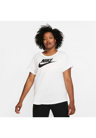 Nike Sportswear T-Shirt »TEE ESSENTIAL FUTURA PLUS SIZE« kaufen