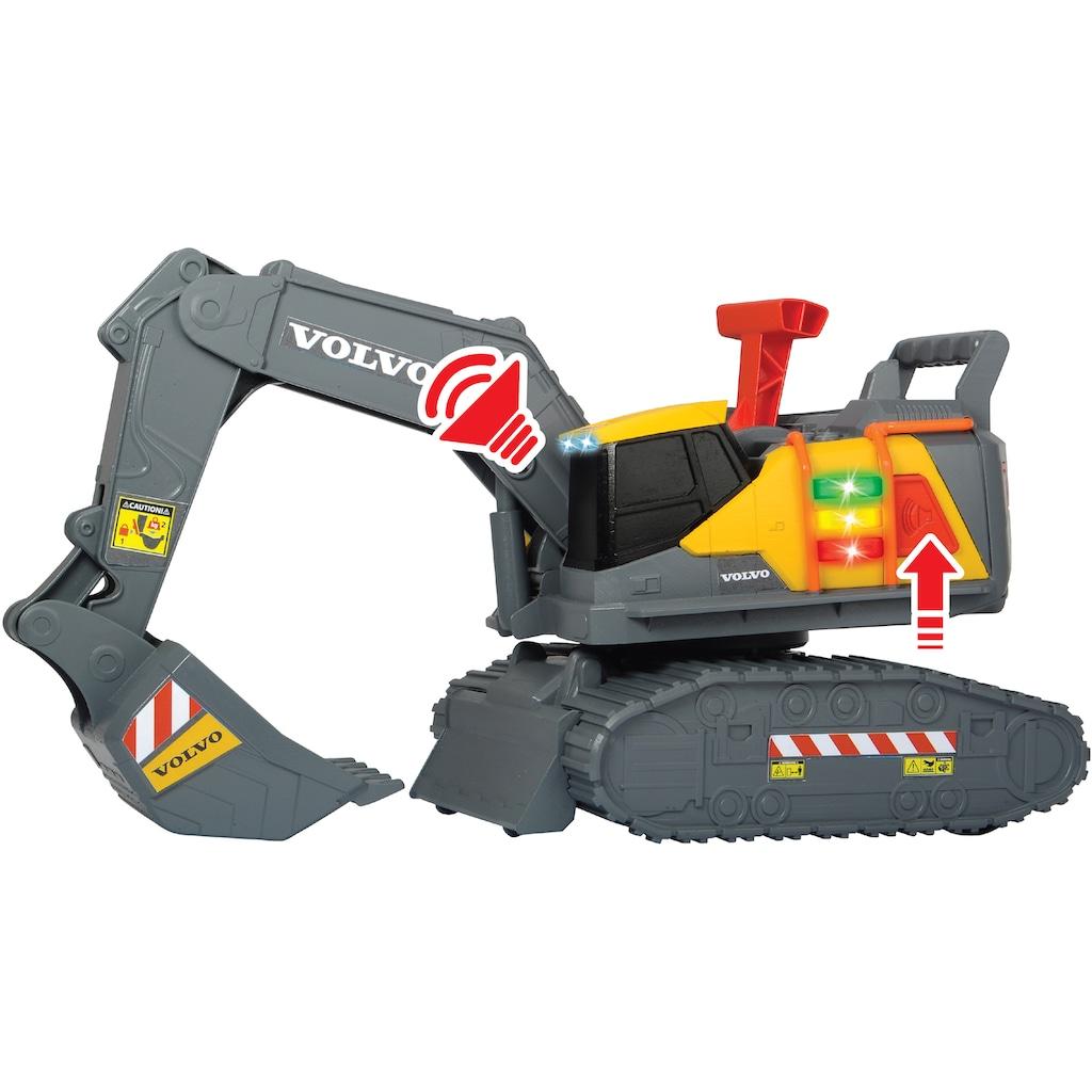 Dickie Toys Spielzeug-Bagger »Volvo Weight Lift Excavator«, mit Licht und Sound