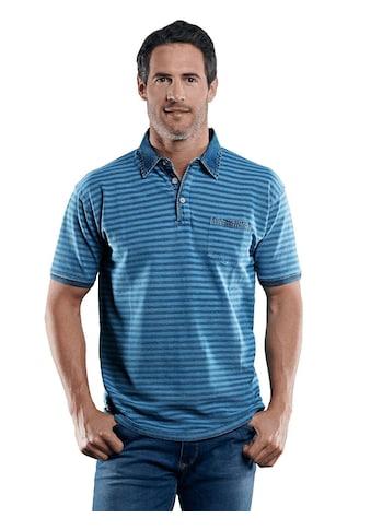 Engbers Poloshirt mit Jeanskragen kaufen