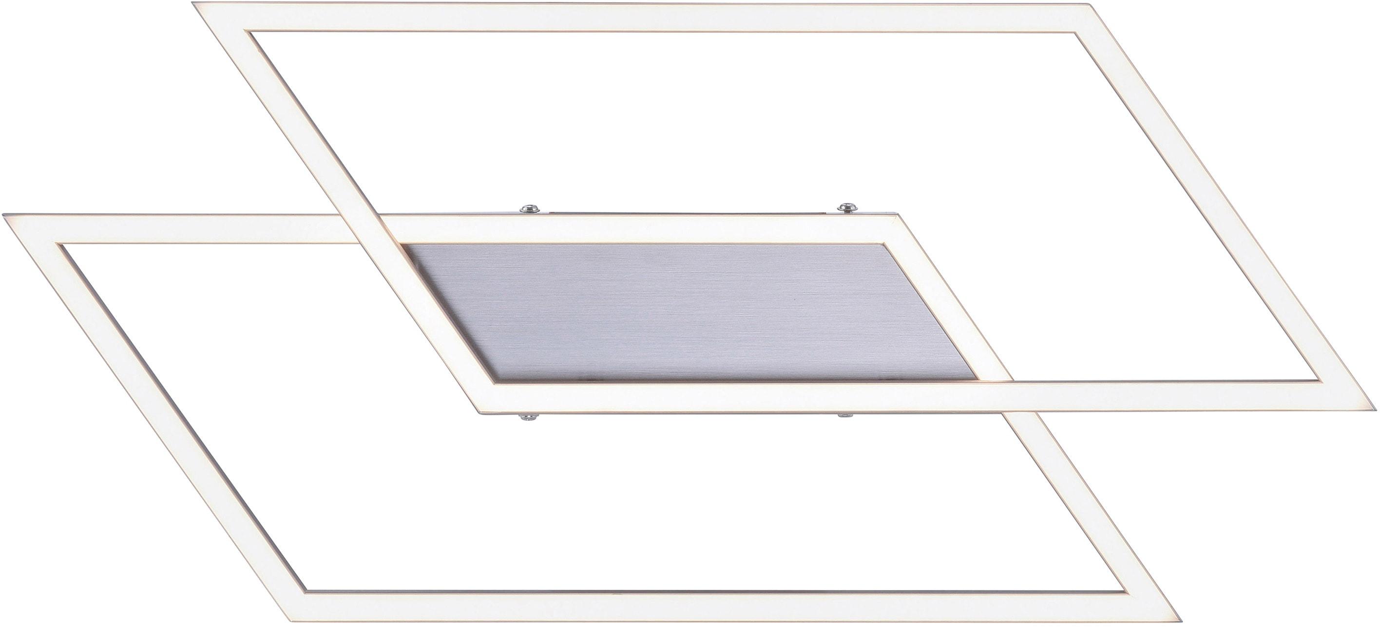 Paul Neuhaus LED Deckenleuchte Inigo, LED-Board, 1 St., Warmweiß, Stufenlos dimmbar über vorhandenen Wandschalter
