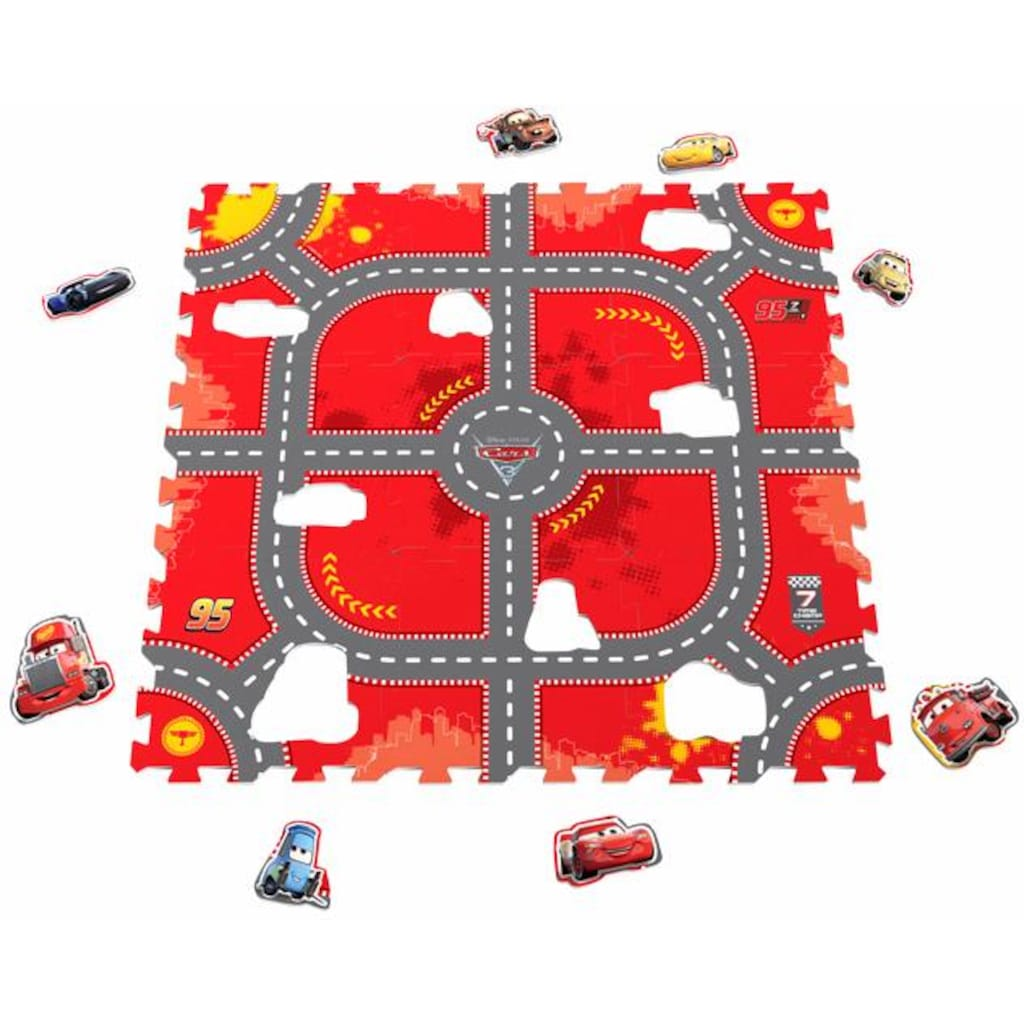 Knorrtoys® Puzzle »Disney/Pixar Cars, Modular Race«