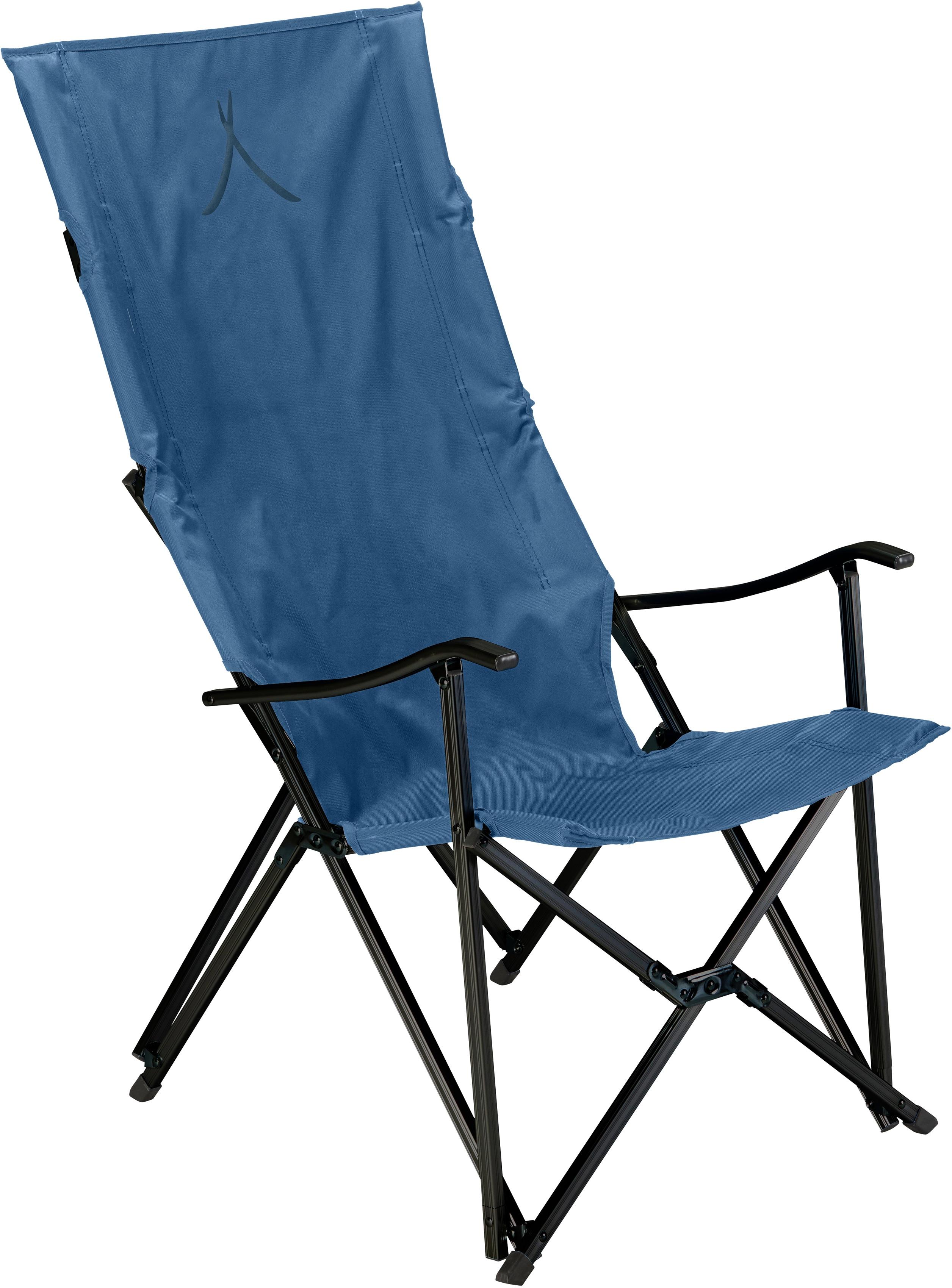 GRAND CANYON Campingstuhl EL TOVAR HIGHBACK blau Campingmöbel Camping Schlafen Outdoor