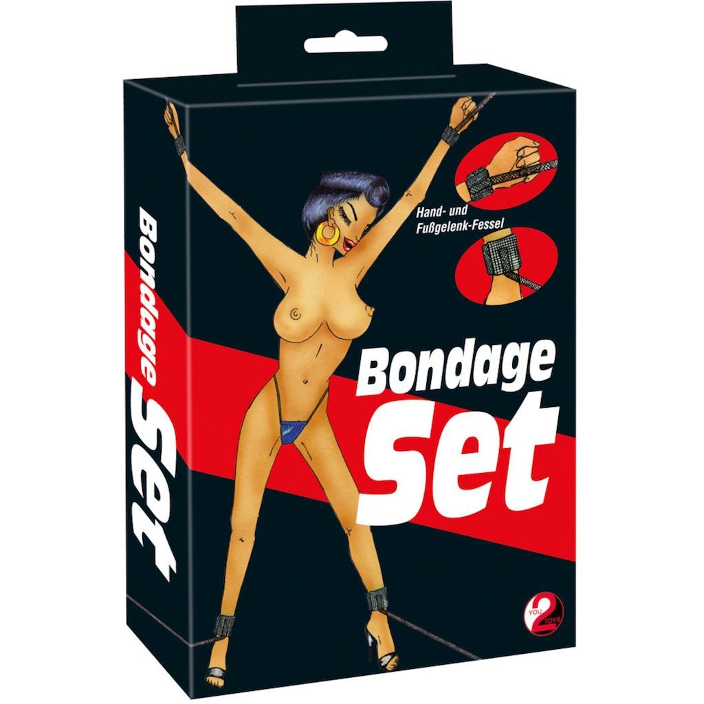 You2Toys Bondage-Set »Hand+Fuß 4er«