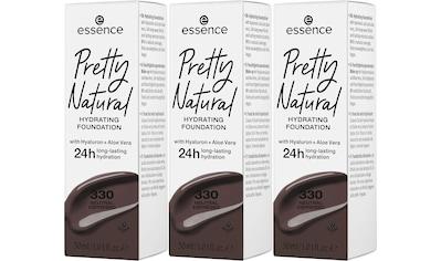 Essence Foundation »Pretty Natural HYDRATING«, (Set, 3 tlg.) kaufen