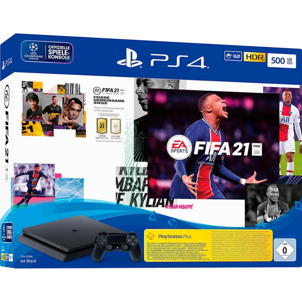 PlayStation 4 Konsole »Slim«, inkl. FIFA 21