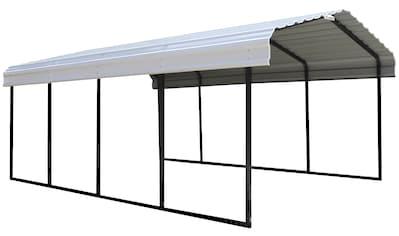 ShelterLogic Einzelcarport »Neapel«, Stahl, 360 cm, schwarz-weiß kaufen
