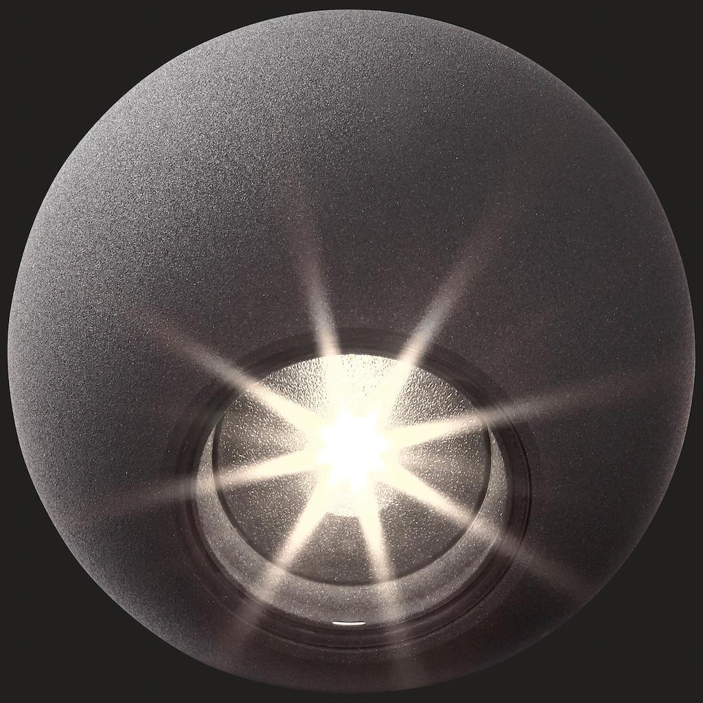 AEG Gus LED Außenwandleuchte 3flg anthrazit