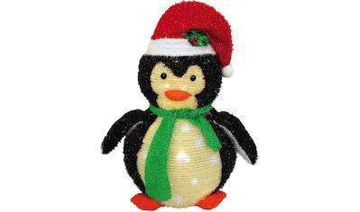BONETTI LED Dekoobjekt »Pinguin«, Warmweiß, Höhe 40 cm, mit 60 warmweißen LEDs kaufen