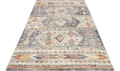 Wecon home Teppich »Elwood«, rechteckig, 4 mm Höhe, Vintage, In- und Outdoor geeignet kaufen