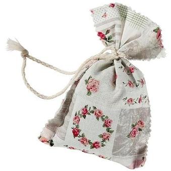 Duftkissen, »4er Set Duftbeutel Lavendel Patchwork Rosenmuster«, herbalind, (4 - tlg.) kaufen