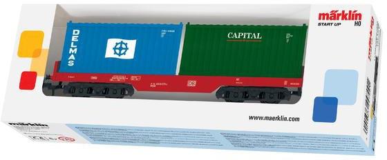 Märklin Güterwagen Märklin Start up, Containerwagen DB AG, Spur H0