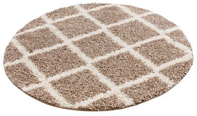 Hochflor - Teppich, »Linz«, my home, rund, Höhe 31 mm, maschinell gewebt kaufen