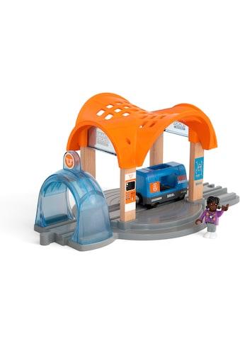 """BRIO® Spielzeugeisenbahn - Tunnel """"BRIO® Smart Tech Sound Bahnhof mit Action Tunnel"""" kaufen"""
