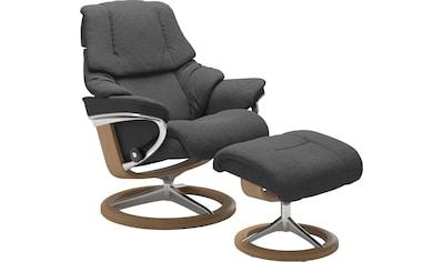 Stressless® Relaxsessel »Reno«, mit Hocker, mit Signature Base, Größe S, M & L,... kaufen