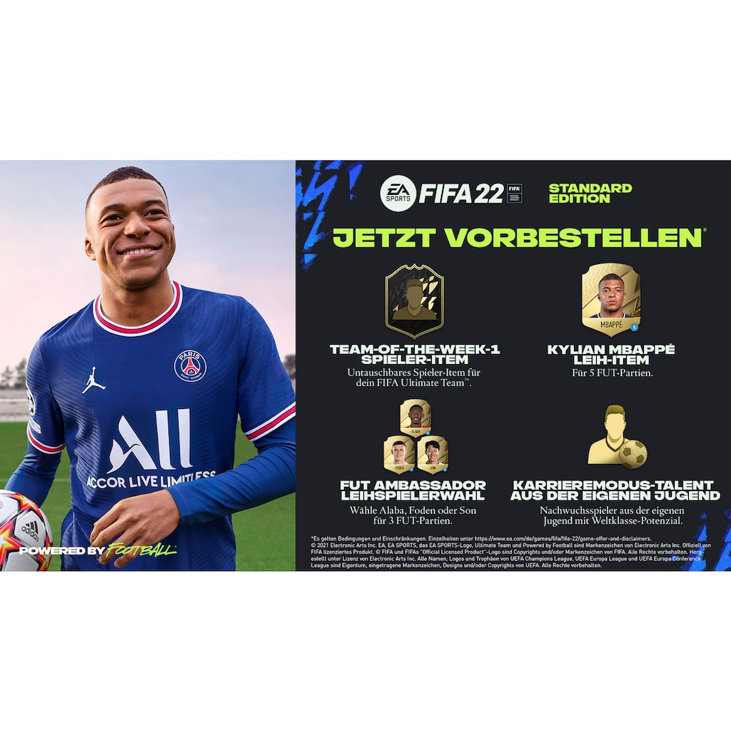 Electronic Arts Spiel »FIFA 22«, PlayStation 4