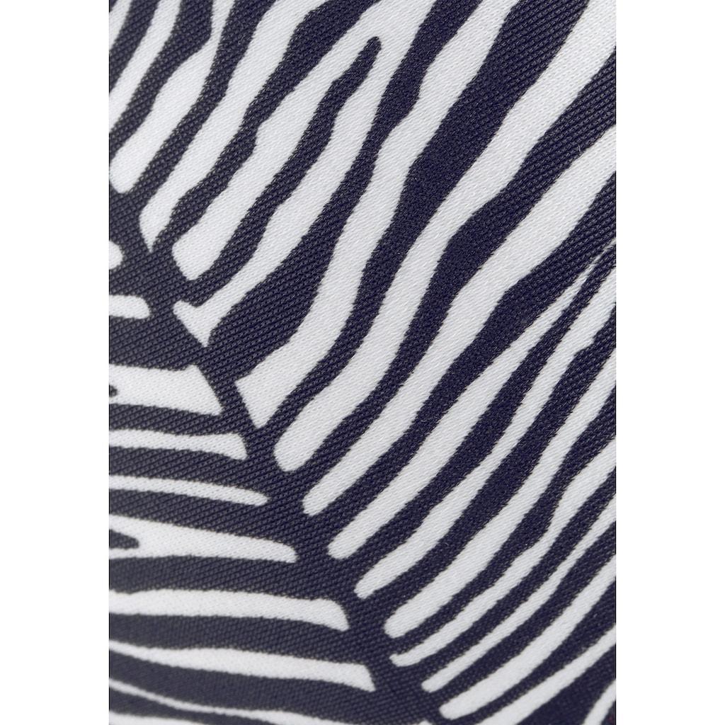 Venice Beach Push-Up-Bikini-Top »Sugar«, mit abstraktem Animalprint