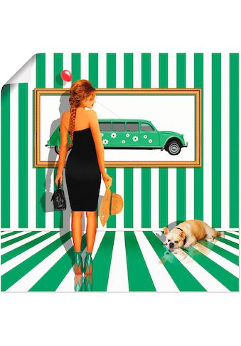 Artland Wandbild »Serie«, Frau, (1 St.), in vielen Größen & Produktarten... kaufen