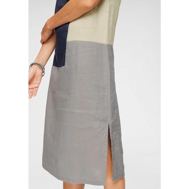 Boysen's Sommerkleid »aus 100% Leinen«