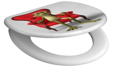 SCHÜTTE WC - Sitz »Frog King«, mit Absenkautomatik kaufen